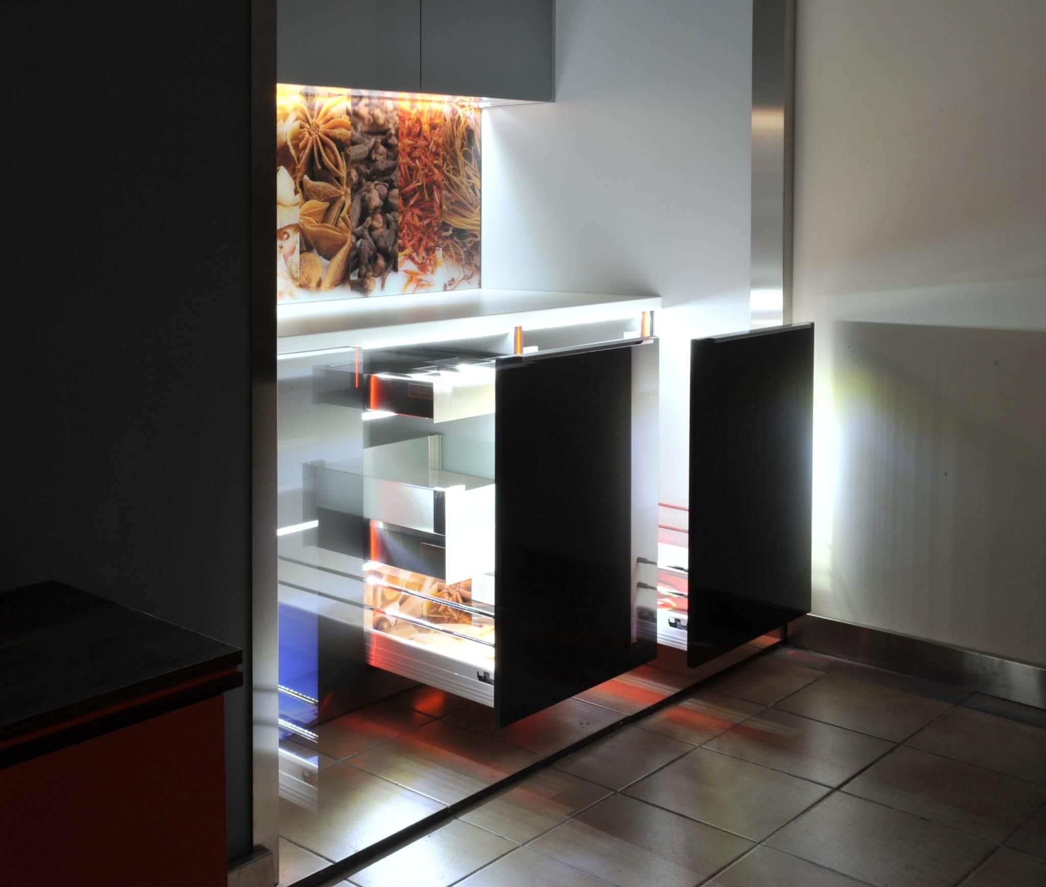Oświetlenie Mebli Kuchennych Sls Meble